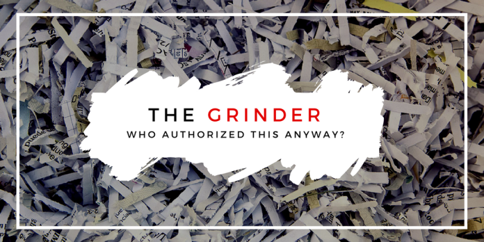 grinder, paper, shred, review, daphodilly,